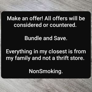 Other - Make offer, bundle to save.